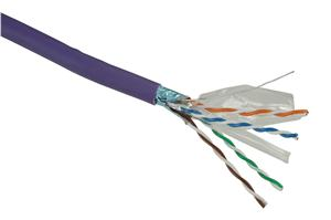 Instalační kab.Solarix CAT6 FTP PVC 500m drát LSOH