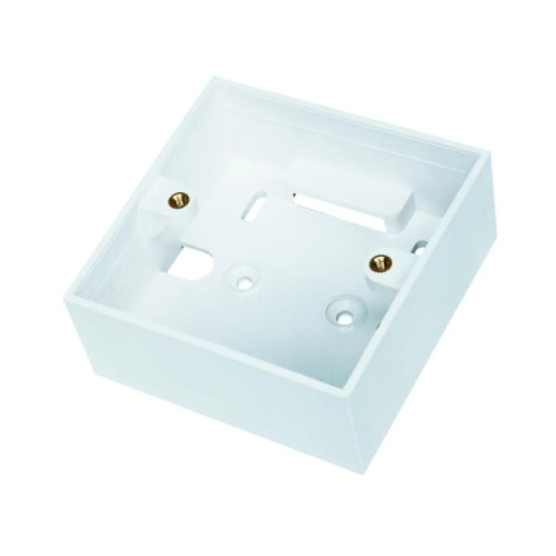DATACOM Rámeček pro montáž zásuvky na omítku - HSEAP80W-F / 2276