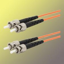 Optický patchkabel duplex ST-ST, 50/125 um MM,130m