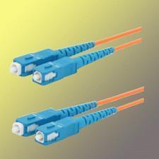 Optický patchkabel duplex SC-SC 62,5/125µm MM,15m