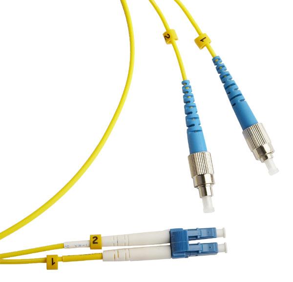 Optický patch cord duplex FC-LC 50/125 MM, 5m