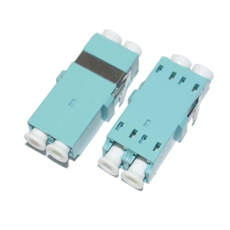 Optická spojka LC multi mode duplex OM3 bez příruby -