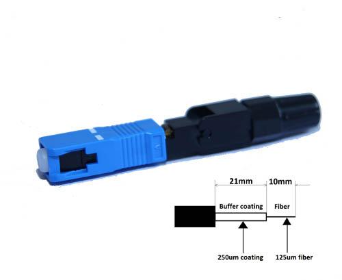 Optický Konektor SC rychloinstalační