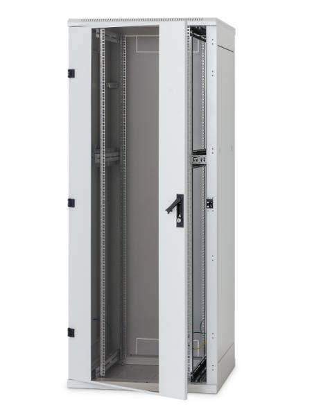 Stojanový rozvaděč 15U (š)600x(h)1000, skleněné dveře - RMA-15-A61-CAX-A1