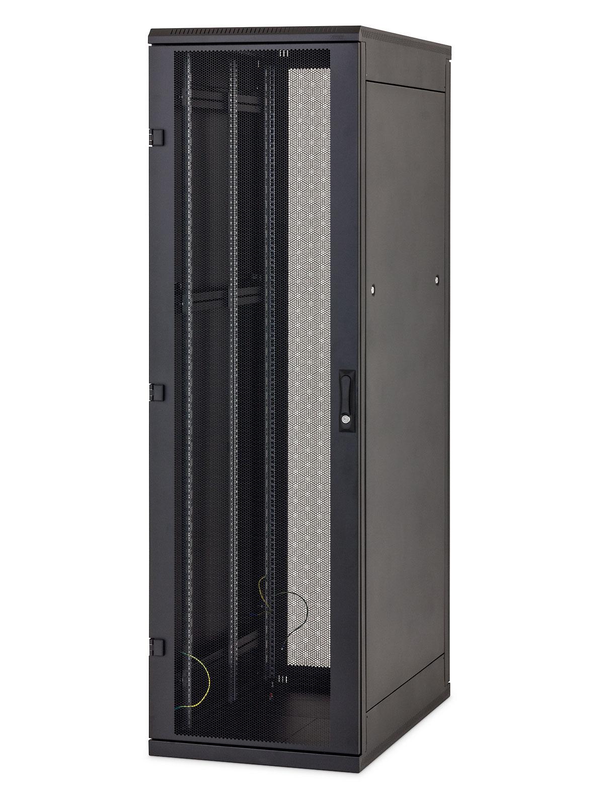 Stojanový rozvaděč 27U (š)600x(h)600 černý - RMA-27-A66-BAX-A1