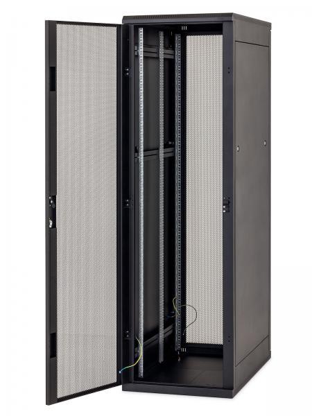 Stojanový rozvaděč 37U (š)600x(h)600 černý - RMA-37-A66-BAX-A1