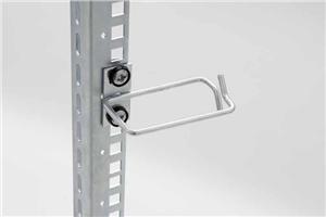 Vyvazovací háček 40x40 D3 kov levý fix,pravý gate