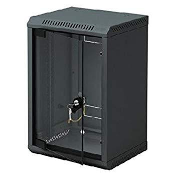 10' rack jednodílný 4U/260 TRITON černý dveře sklo