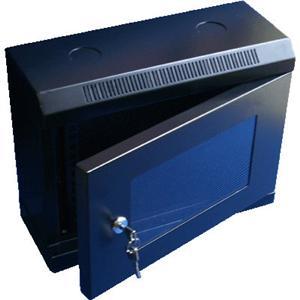 10  rack jednodílný 6U/280 DATACOM černý Skl.dv.