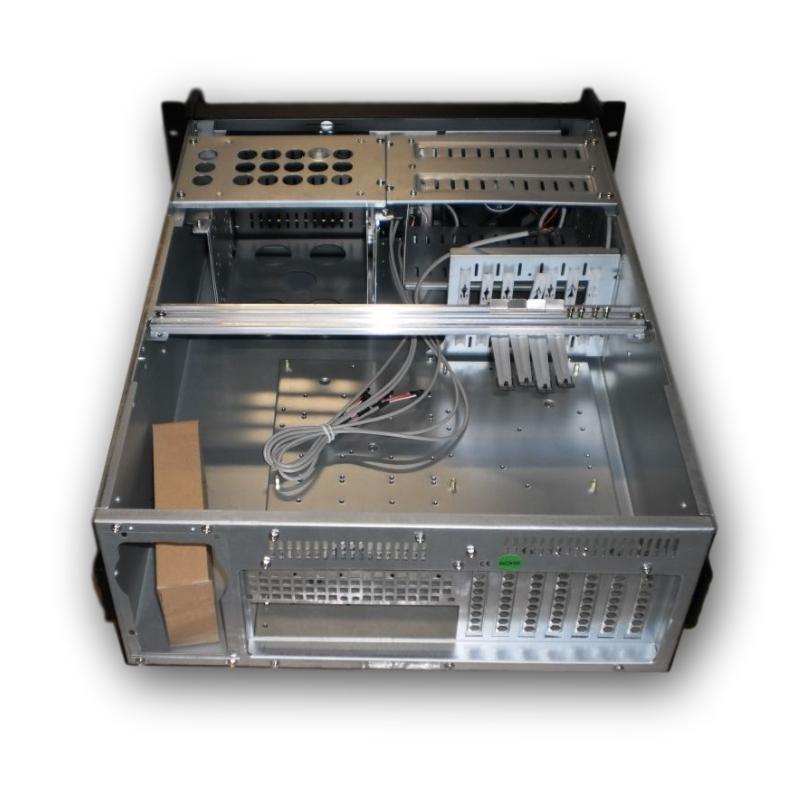 19'' IPC case do racku,580mm hloubka,černý+ dárek myš Sony Vaio