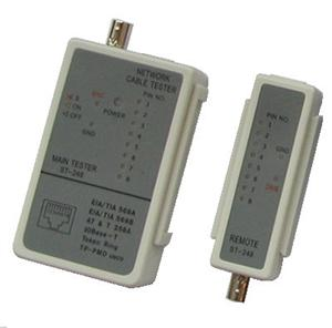 DATACOM Cable Tester LED RJ 45 / BNC - 4580