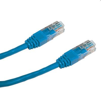 DATACOM Patch cord UTP CAT5E 1,5m modrý