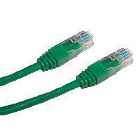 DATACOM patch cord UTP cat5e 2M zelený