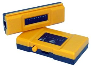 UTP kabel tester, RJ45/ 11, LED diody