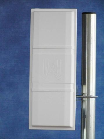 Sektorová dvoupolarizační panelová ant. 19dBi N