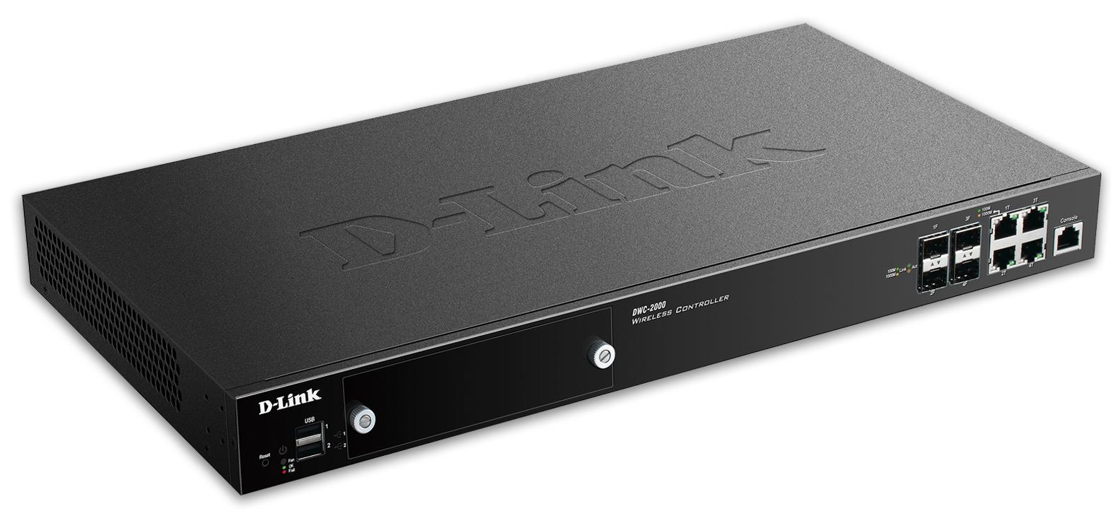 D-Link DWC-2000 4xGLAN Wireless Switch, 64-256AP
