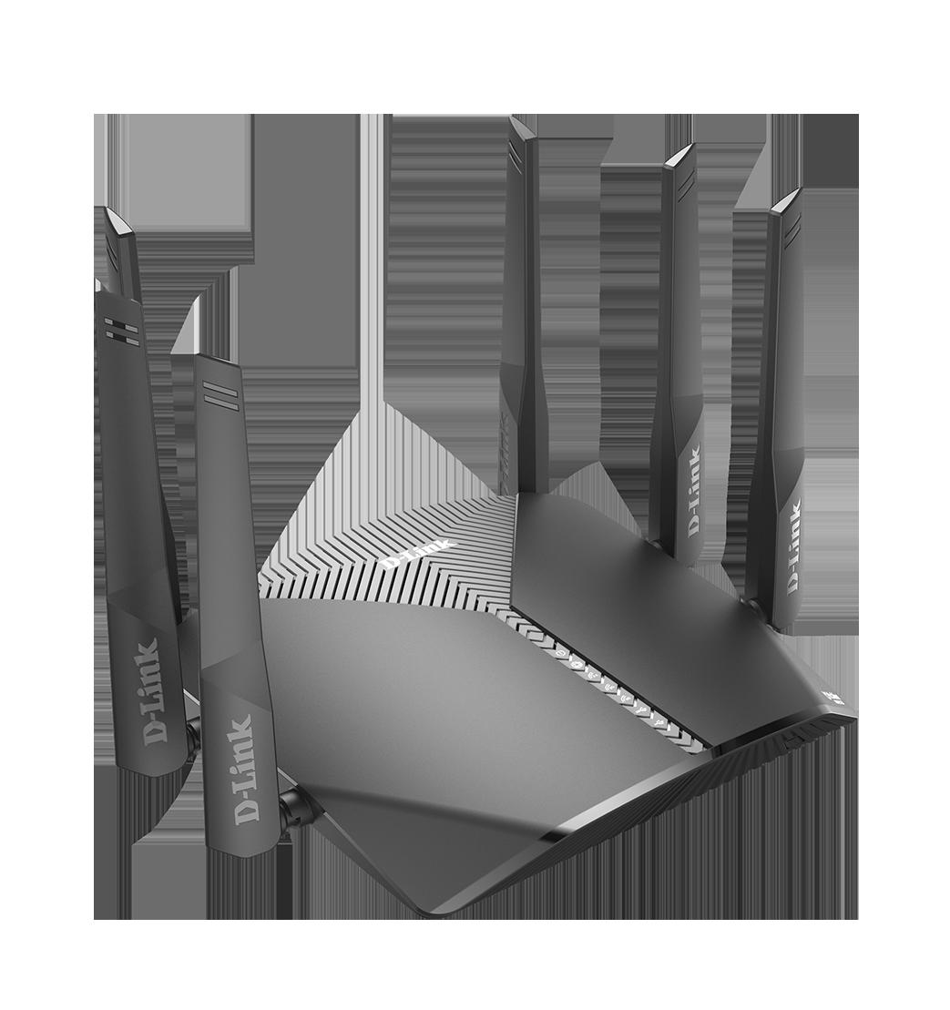 D-Link DIR-3060 EXO AC3000 Smart Mesh Wi-Fi Router - DIR-3060