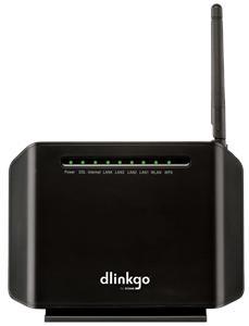 D-Link GO-DSL-N151 WiFi N ADSL2+ Modem Router