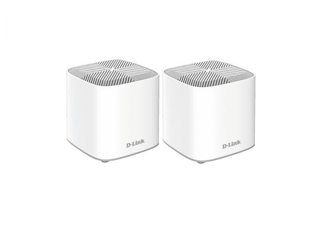 D-Link COVR-X1862 - AX1800 Dual-Band Whole Home Mesh Wi-Fi 6 System (2-Pack) - COVR-X1862