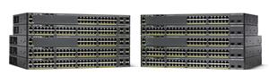 Cisco WS-C2960X-24PS-L, 24xGigE PoE 370W, 4x SFP