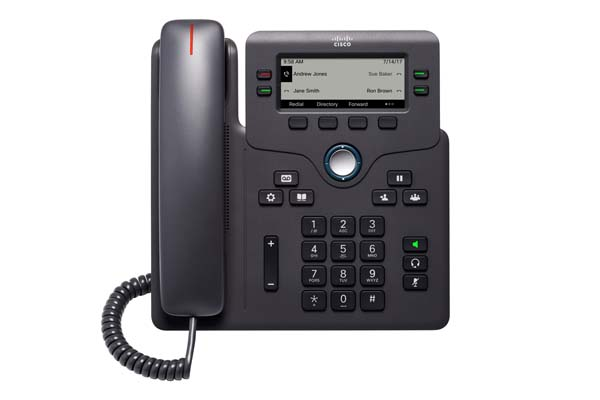 Cisco IP Phone CP-6841-3PW-CE-K9= with power adapter