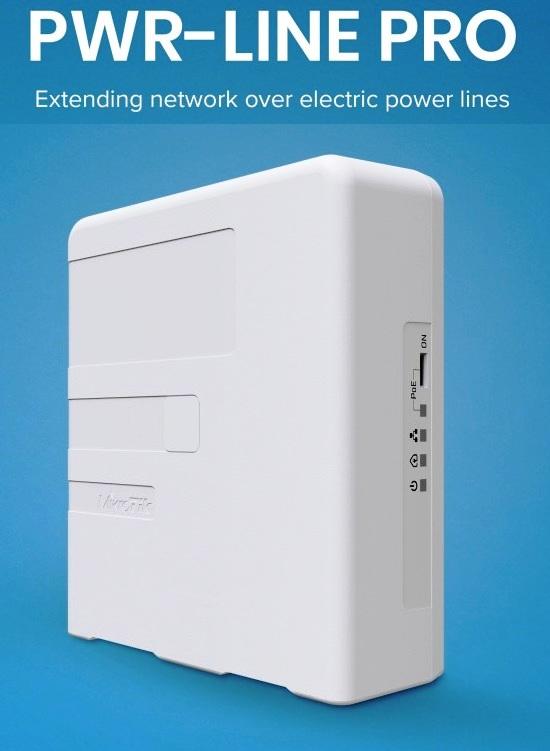 MikroTik PL7510Gi Powerline adaptér PWR-LINE PRO - PL7510Gi
