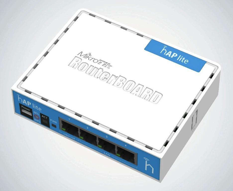 Mikrotik RB941-2nD,32MB RAM,4xLAN,wireless AP - RB941-2nD