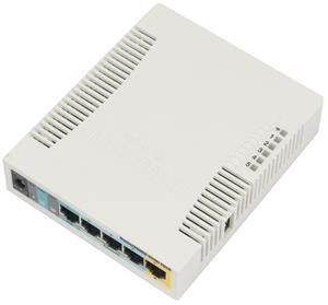 Mikrotik RB951Ui-2HnD,600MHz,128MB RAM,RouterOS L4 - RB951Ui-2HnD