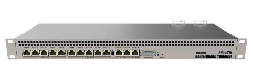 Mikrotik RB1100AHx4 1GB RAM, 1400MHz, RouterOS L6