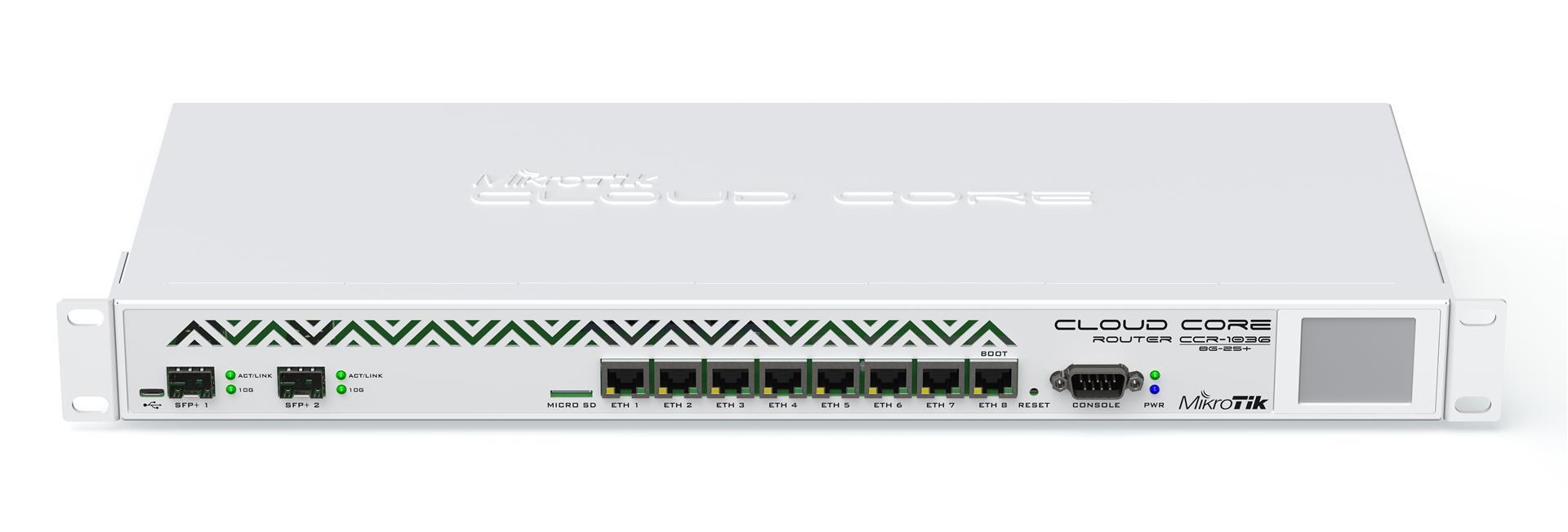 MikroTik CCR1036-8G-2S+EM ROS L6,10G SFP+ - CCR1036-8G-2S+EM