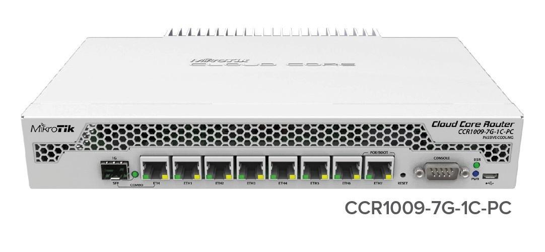 MikroTik CCR1009-7G-1C-PC