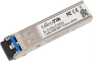 MikroTik SFP modul S-31DLC20D, SM, 20km, 1.25G - S-31DLC20D
