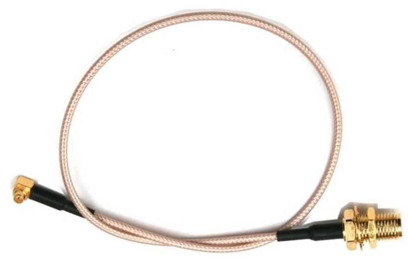 Pigtail MMCX/M - RSMA, 23cm