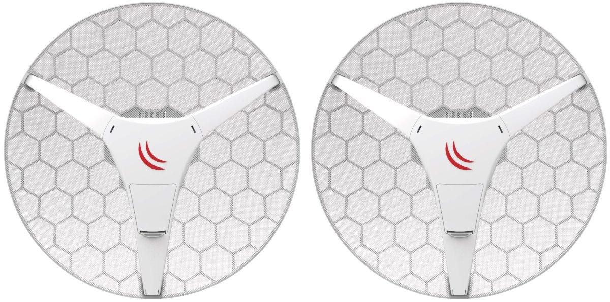 MikroTik RBLHGG-60ad kitr2, Wireless Wire Dish - kompletní spoj