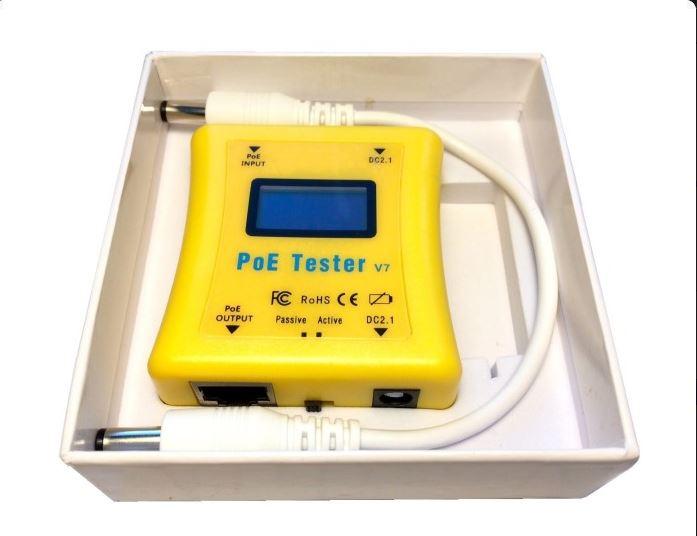 Univerzální PoE Tester Gen2 - POE-T-G2