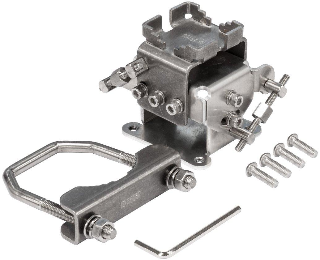 MikroTik solidMOUNT - Precizní kovový držák pro LHG jednotky - solidMOUNT