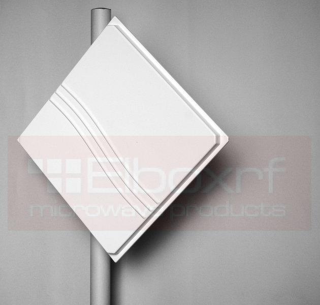 TetraAnt 4x4/3x3 MIMO směr. panelová anténa 19dBi