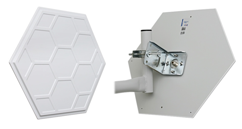 CYBERBAJT GigaEter 23dBi, 5,8 GHz, 10°, H/V rovina