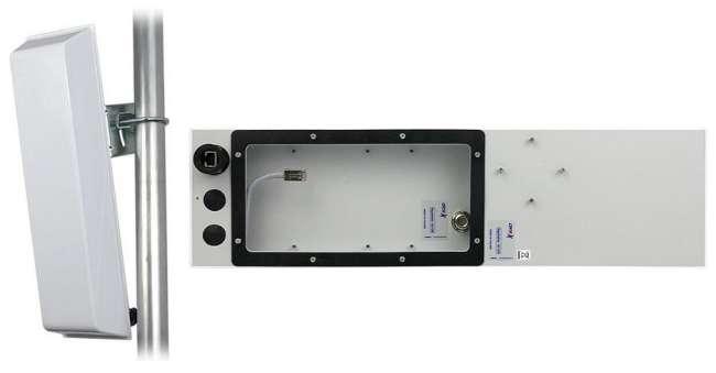 GigaSektor anténa BOX 16dBi/90°, 5GHz, N/F vertiká