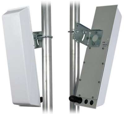 GigaSektor anténa BOX 16dBi/120°, 5GHz, N/F vertik