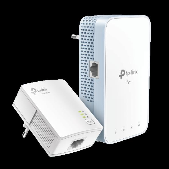TP-Link TL-WPA7517KIT AV1000 Gb Pwrline AC750 Wifi kit (2ks) - TL-WPA7517KIT