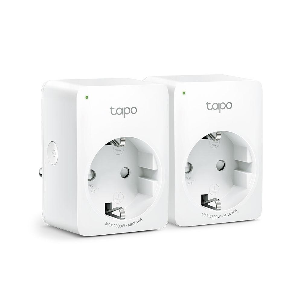 TP-link Tapo P100(2-pack) WiFi chytrá zásuvka, 10A - Tapo P100(2-pack)