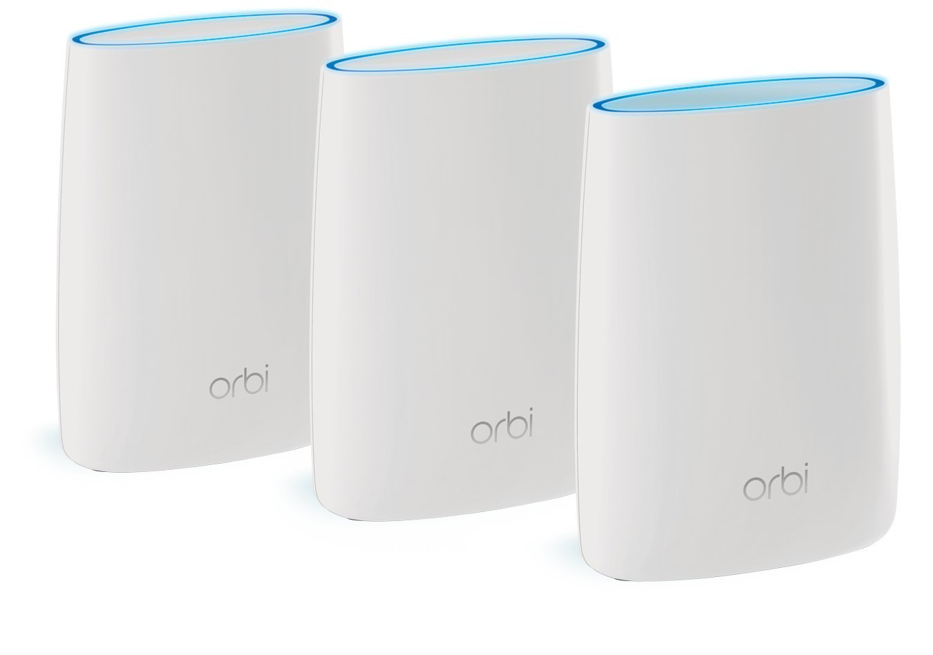 Netgear Orbi AC3000 Tri-Band WiFi System Router + 2 Satellite, RBK53