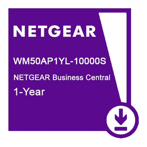 NETGEAR CLOUD WLESS MGMT 50AP 12 MONTHS, WM50AP3YL