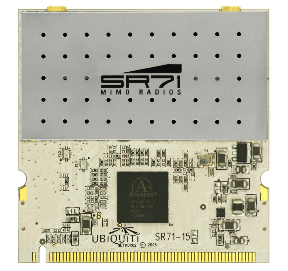 UBNT SR71-15 miniPCI 802.11a/b/g/n