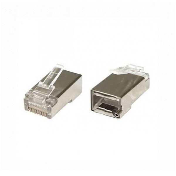 UBNT konektor STP RJ45, Cat6, 8p8c, drát,pozlacený-celá krabice 2400ks