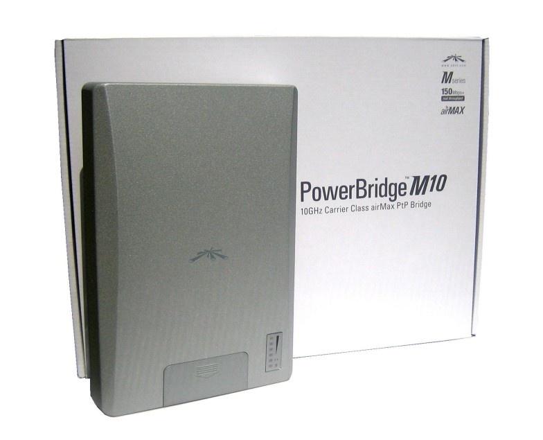 UBNT AP PBM10 10GHz PowerBridge(jen aktivní prvek)