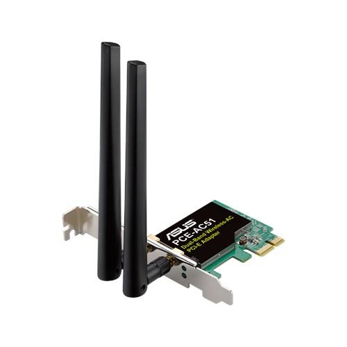 ASUS Dualband WLAN PCI-E 802.11ac 300M PCE-AC51
