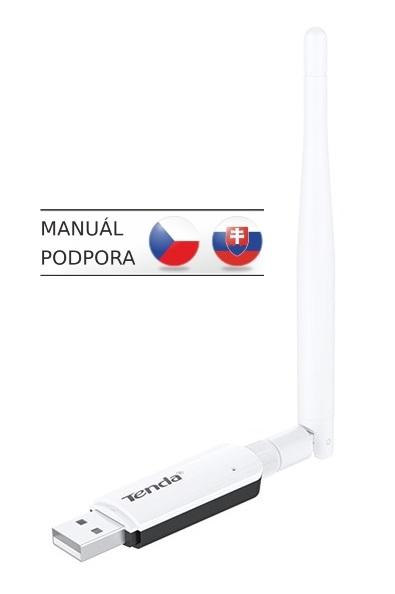 Tenda U1 Wireless-N USB Adapter, 300Mb/s, 3,5dBi