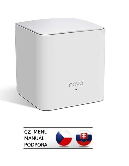 Tenda Nova MW5s (1-pack) Wireless AC1200 Mesh system Dual Band, 2x LAN, MU-MIMO, SMART CZ aplikace - MW5s(1-pack)